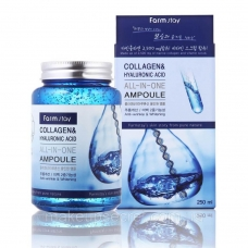 Farmstay Collagen & Hyaluronic Acid All-in-one-Ampoule
