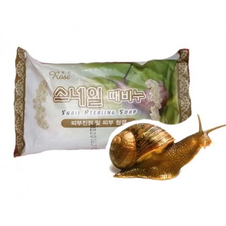 Мыло-пилинг Snail Peealing Soap (Улиточный муцин)