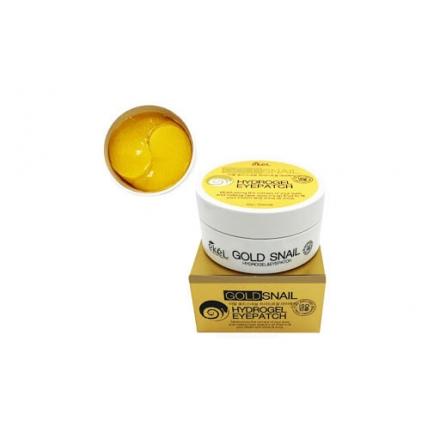 Ekel Gold Snail Eye Patch гидрогелевые патчи с золотом и улиткой