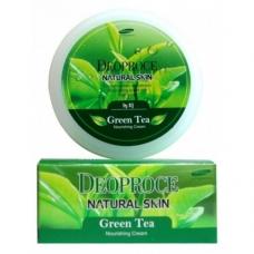 Крем Deoproce Natural Skin Green Tea Nourishing