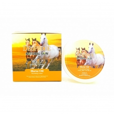 Deoproce Natural Skin Horse Oil Nourishing Cream 100g - Питательный осветляющий крем с лошадиным жиром 100г