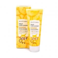 Milatte Fruit Foam Cleanser Banana/Пенка для умывания банан