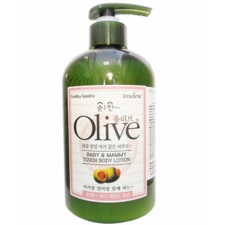 Olive Baby & Mammy Touch Body Lotion Лосьон для тела для мамы и ребенка