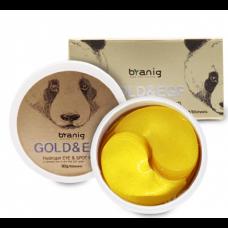Byanig Gold&EGF Hydrogel EYE & Spot Patch - Гидрогелевые патчи под глаза для подтяжки нижнего века с эффектом осветления 60шт