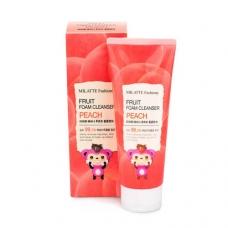 MILATTE FASHIONY FRUIT FOAM CLEANSER/Пенка для умывания персик