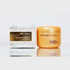 3W CLINIC Collagen Sleeping Pack/Увлажняющая ночная маска с коллагеном 3W CLINIC