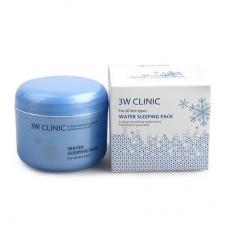 3W Clinic Water sleeping Pack-ночная крем-маска на водной основе