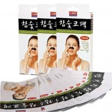 Очищающие полоски для носа Luke Charcoal Nose Cleansing Strips
