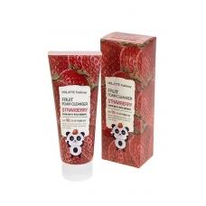 MILATTE FASHIONY FRUIT FOAM CLEANSER - STRAWBERRY/Пенка для умывания клубника