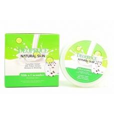 Deoproce Natural Skin Milk Protein Cucumber/ крем для лица