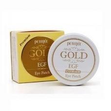 PREMIUM PETITFEE GOLD HYDROGEL EYE PATCH/ГИДРОГЕЛЕВЫЕ ПАТЧИ ДЛЯ ГЛАЗ 60 ШТ