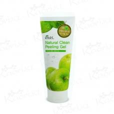 Ekel Apple Natural Clean Peeling Gel пилинг-скатка с экстрактом зеленого яблока