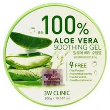 Гель универсальный АЛОЭ Aloe Vera Soothing Gel 100% 3W CLINIC