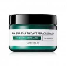 Some By Mi Восстанавливающий крем для проблемной кожи AHA-BHA-PHA 30 Days Miracle Cream