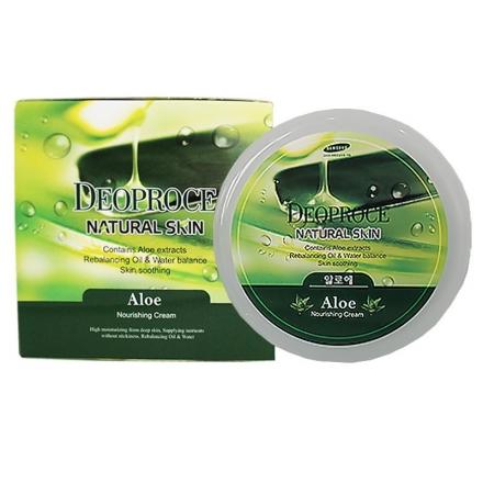 Deoproce Natural Skin Aloe Nourishing Cream