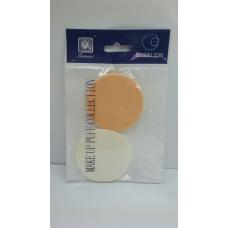Tianwei Make up puff collection/Спонж для пудры и тональных основ (круглый)от Tianwe