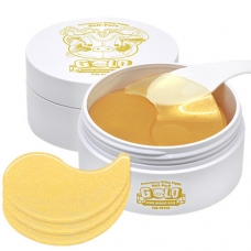 ELIZAVECCA MILKY PIGGY HELL PORE GOLD HUALURONIC ACID EYE PATCH/Гидро-гелевые патчи ELIZAVECCA с гиалуроновой кислотой