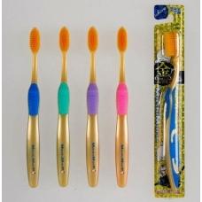 Зубная щетка MashiMaro с нано золотом Nano Gold