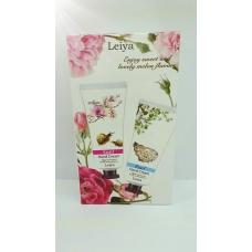Leiya Snail & Pearl hand cream/Подарочный набор кремов Leiya для рук, на основе улитки и жемчуга