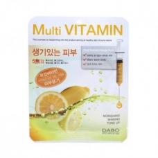 Dabo Multi-vitamin/Маска для лица с витамином С