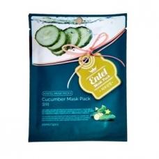 Entel Cucumber Mask Pack/МАСКА ТКАНЕВАЯ С ОГУРЦОМ