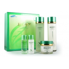 Набор для ухода за кожей JIGOTT Well Being Greentea Skincare 3Set