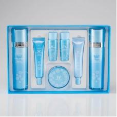 Enough W Collagen Whitening Premium Skin Care 5 Set - Набор осветляющих средств с коллагеном