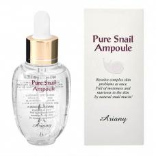 ARIANY  Pure Snail Ampoule/Сыворотка для лица с экстрактом муцина улитки и гиалуроновой кислотой