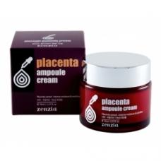 ZENZIA PLACENTA AMPOULE CREAM/Крем для лица с плацентой