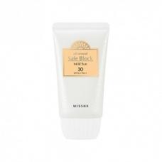 MISSHA All-around Safe Block Mild Sun SPF30/PA++ Солнцезащитный крем для лица