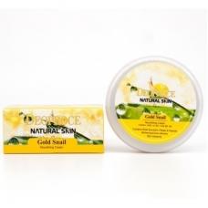 Deoproce Natural Skin GOLD Snail Nourishing Cream/Питательный крем с золотом и муцином улитки