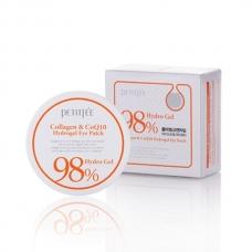 Petitfee 98% Collagen & CoQ10 Hydro Gel Eye Patch Гидрогелевые патчи для глаз