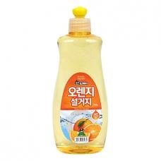 Sandokkaebi Средство для мытья посуды Апельсин флакон 500гр