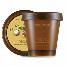 Маска для волос с маслом Арганы [NATURE REPUBLIC] Argan Essential Deep Care Hair Pack